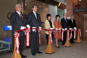オープン前日の17日(金)は記念式典が行われました