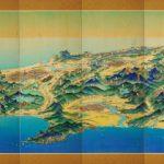 北海道鳥瞰図屏風