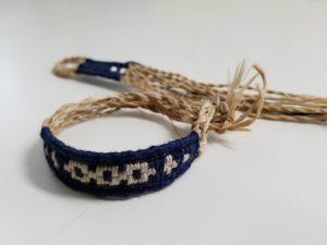 ちゃれんがワークショップ<br>アイヌ民族の編みものをつくる-エムシアッの技術でブレスレット-