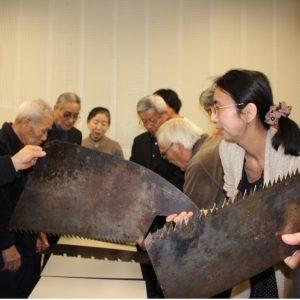 ミュージアムトーク<br>北海道林業を支えた道具