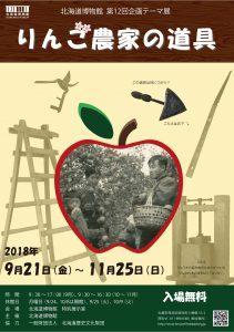 第12回企画テーマ展「りんご農家の道具」
