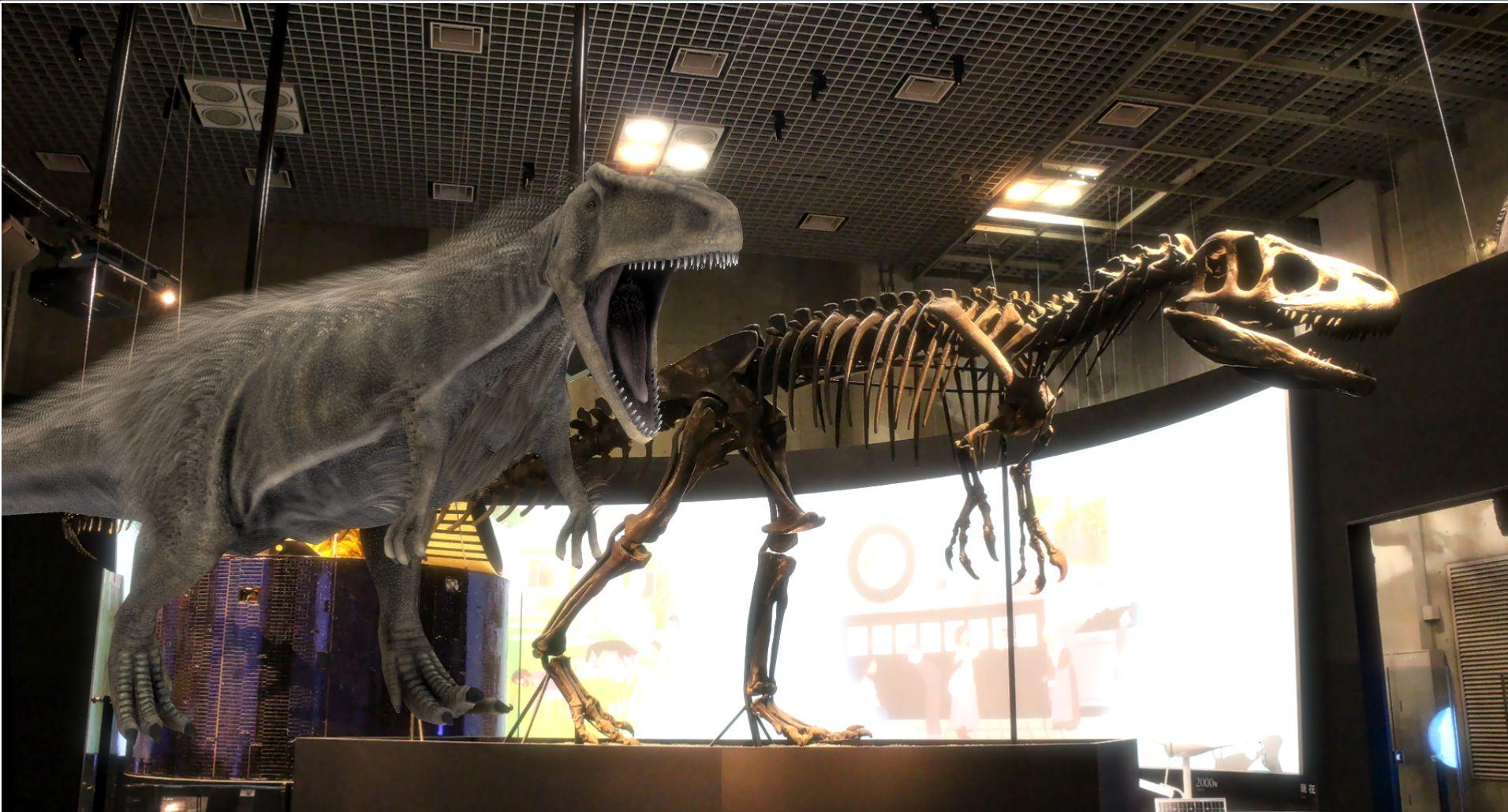 特別イベント<br>アロサウルスになってみよう!